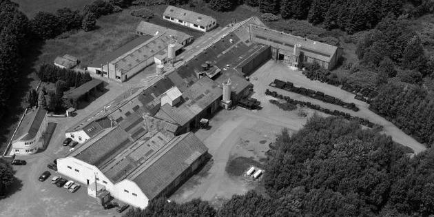 Les bâtiments de la fonderie Avenir-Sirène de Rocroi (08230)